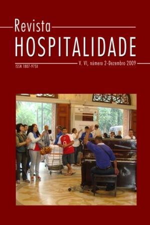 Revista Hospitalidade, v. VI, número 2, Dezembro 2009